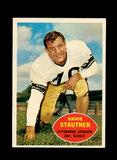1960 Topps Football Card #101 Hall of Famer Ernie Stautner Pittsburgh Steel