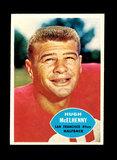 1960 Topps Football Card #116 Hall of Famer Hugh McElhenny San Francisco 49