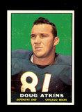 1961 Topps Football Card #15 Hall of Famer Doug Atkins Chicago Bears.