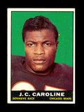 1961 Topps Football Card #17 J.C. Caroline Chicago Bears.