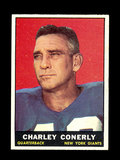 1961 Topps Football Card #85 Charlie Conerly New York Giants.