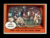 1961 Topps Football Card #113 Highlights Hall of Famer Bobby Layne Pittsbur