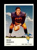 1961 Fleer Football Card #217 Mike Nudock New York Titans.