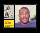1962 Topps Football Card #2 Hall of Famer Lenny Moore Baltimore Colts.