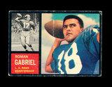 1962 Topps ROOKIE Football Card #88 Rookie Roman Gabriel Los Angeles Rams.
