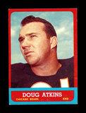 1963 Topps Football Card #68 Hall of Famer Doug Atkins Chicago Bears.