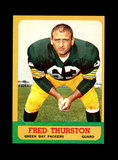 1963 Topps Football Card #90 Fred
