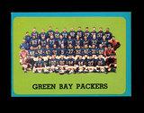 1963 Topps Football Card #97 Green Bay Packers Team Card.