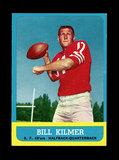 1963 Topps Football Card #136 Bill Kilmer San Francisco 49ers.