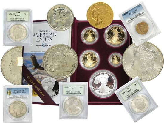 Collectible Coin Auction