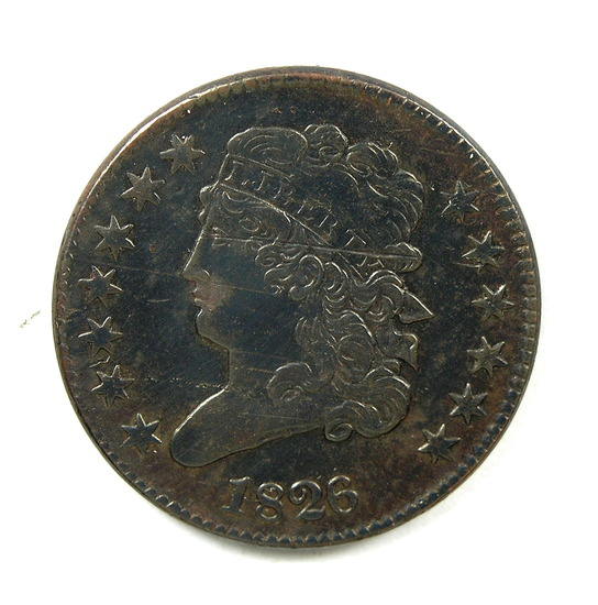 6.1826  U.S. Classic Head Half Cent