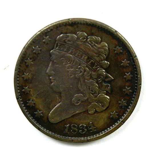 7.1834  U.S. Classic Head Half Cent