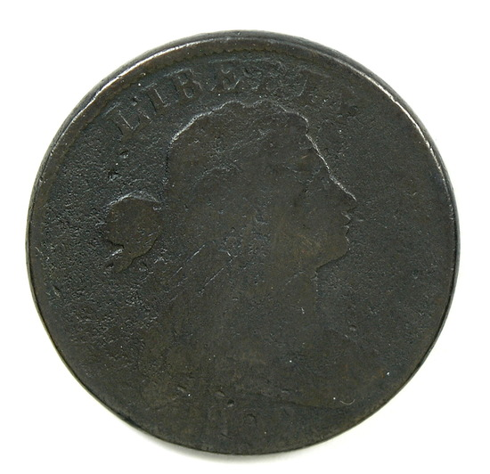 13.  1802  U.S. Draped Bust Large Cent