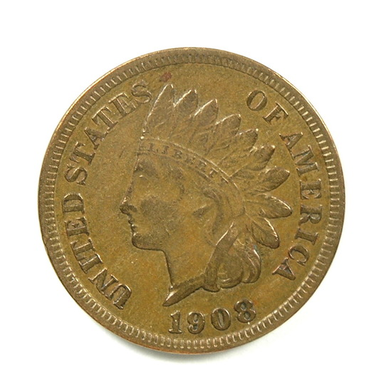 22. 1908-S Indian Cent
