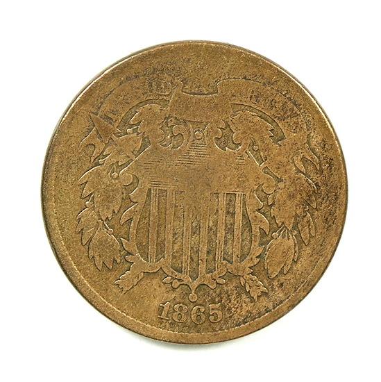 24. 1865  U.S. 2 Cent