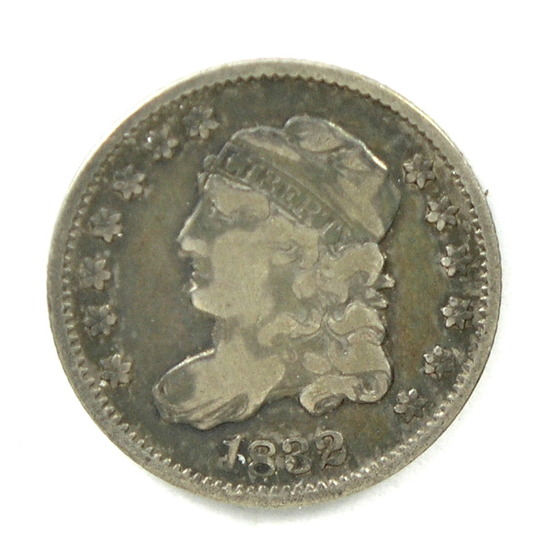 34.  1832   Capped Bust 5 Cent