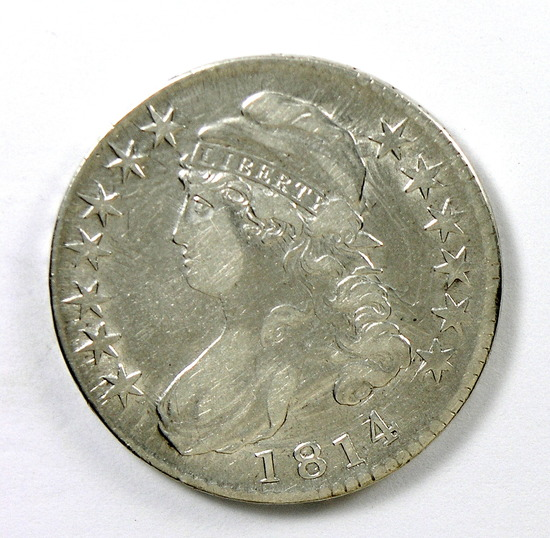78.  1814   Capped Bust 50 Cent