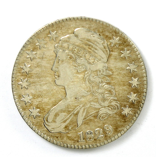 82.  1829   Capped Bust 50 Cent