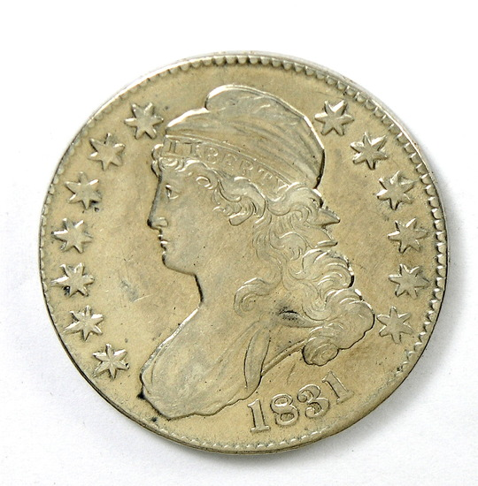 83.  1831   Capped Bust 50 Cent