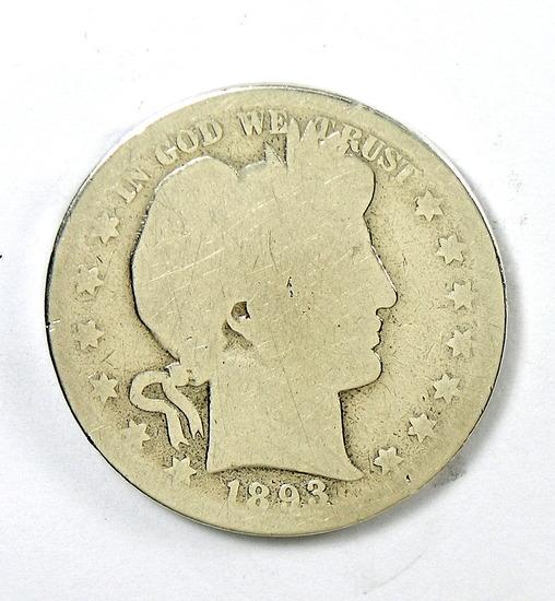 92. 1893   Barber Half Dollar