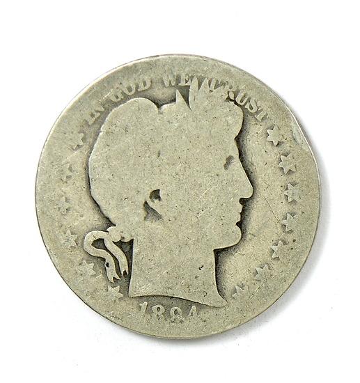 93. 1894-O Barber Half Dollar