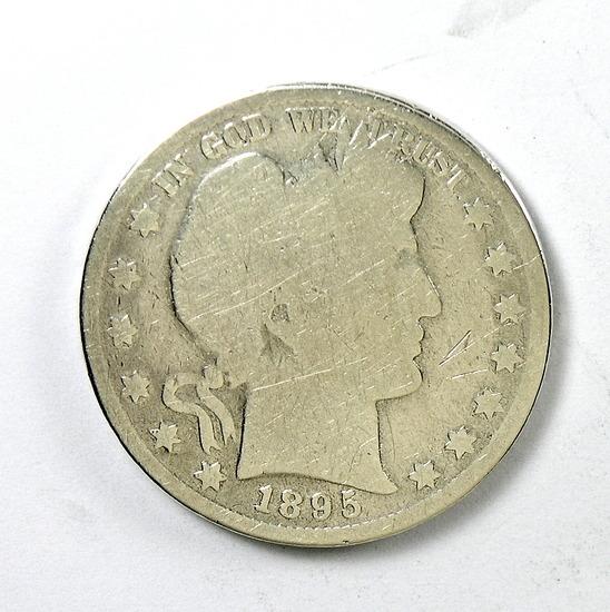 95. 1895    Barber Half Dollar