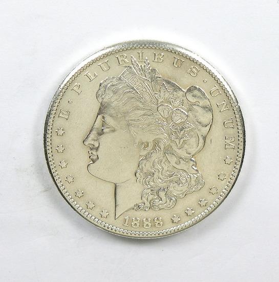 254. 1888-S Morgan Silver Dollar