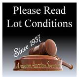 PLEASE NOTE ABOUT CONDITIONS: Conditions on any item in this auction, are t