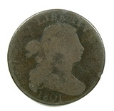 12.  1801  U.S. Draped Bust Large Cent