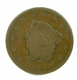 16.  1816  U.S. Liberty Head Large Cent