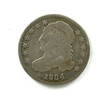 44.  1834   Capped Bust 10 Cent
