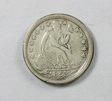 49.  1853   Seated Liberty Dime