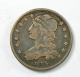 60.  1835   Capped Bust 25 Cent