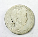 66.  1901    Barber Quarter Dollar