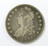 74.  1808   Capped Bust 50 Cent