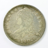 75.  1809   Capped Bust 50 Cent