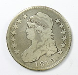 76.  1812   Capped Bust 50 Cent