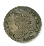 79.  1822   Capped Bust 50 Cent