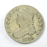 81.  1826   Capped Bust 50 Cent