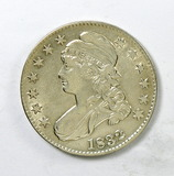 84.  1832   Capped Bust 50 Cent