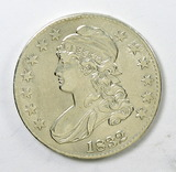 85.  1832   Capped Bust 50 Cent