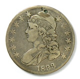 86.  1833   Capped Bust 50 Cent