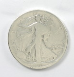 147.    1916-D Walking Liberty Half Dollar, Obv.