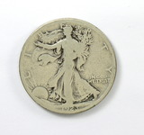 159.    1923-S  Walking Liberty Half Dollar
