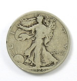 161.    1928-S  Walking Liberty Half Dollar