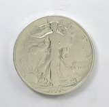 178.    1939-D  Walking Liberty Half Dollar