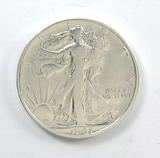 184.    1941-S  Walking Liberty Half Dollar