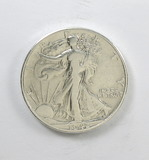 185.    1942    Walking Liberty Half Dollar