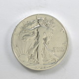 192.    1944-D  Walking Liberty Half Dollar