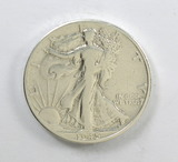 195.    1945-D  Walking Liberty Half Dollar